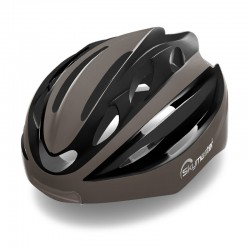 SMART HELMET DARK BROWN